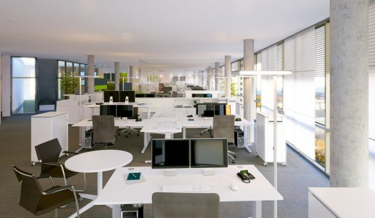 Groraumbro - open space office
